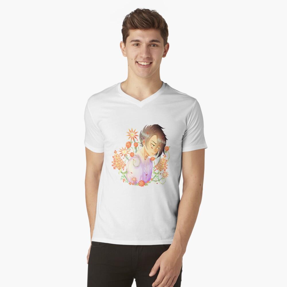 Rey, The promised neverland V-Neck T-Shirt