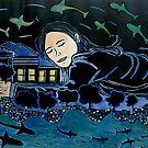 "After the Floods came the dreams by Belinda ""BillyLee"" NYE (Printmaker)"