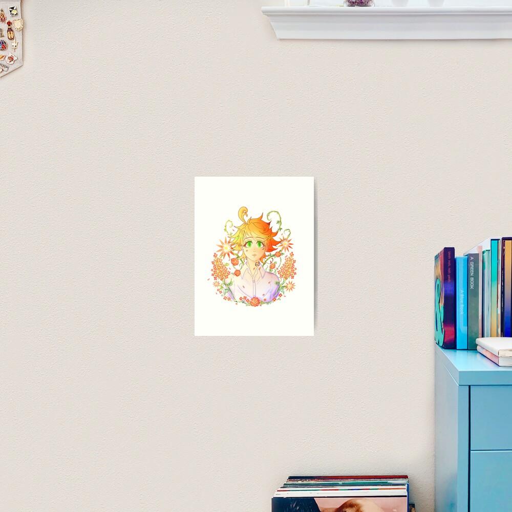 Emma, The promised neverland Art Print