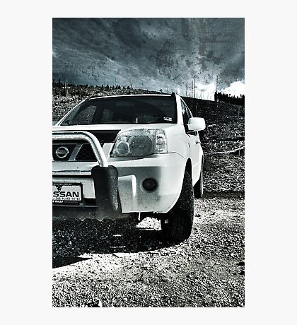 X-trail in Wasteland HDR Photographic Print