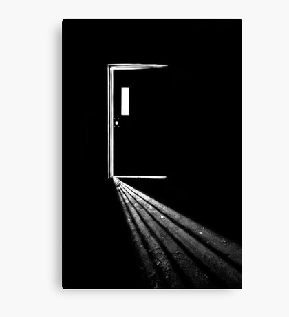 In the Light of Darkness Canvas Print