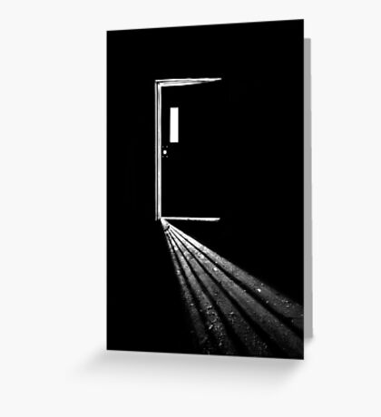 In the Light of Darkness Greeting Card