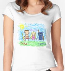 Chappie Family Women's Fitted Scoop T-Shirt