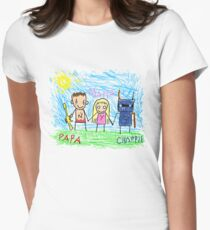 Chappie Family Women's Fitted T-Shirt