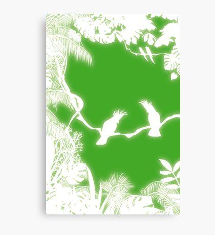 Cockatoos Canvas Print