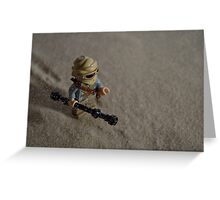 Sandstorm on Jakku Greeting Card