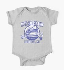 Boblo Island, Detroit MI (vintage distressed look) Kids Clothes