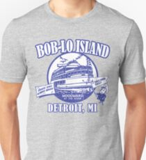 Boblo Island, Detroit MI (vintage distressed look) Unisex T-Shirt