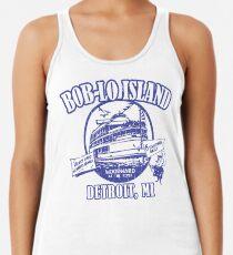 Boblo Island, Detroit MI (vintage distressed look) Women's Tank Top