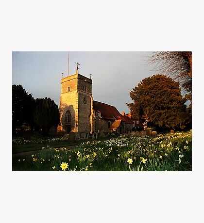 St Mary's Church Bucklebury Photographic Print