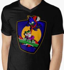 Gnatman vs The Croaker Men's V-Neck T-Shirt