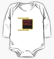 New York Crosswalk Sign Don't Smell One Piece - Long Sleeve