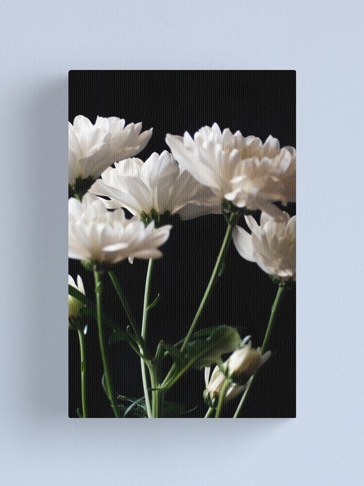 Alternate view of Black and White Canvas Print