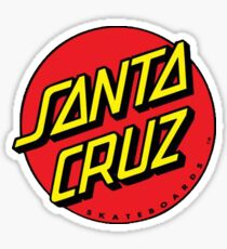 santa cruz Sticker