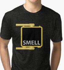 New York Crosswalk Sign Smell Tri-blend T-Shirt