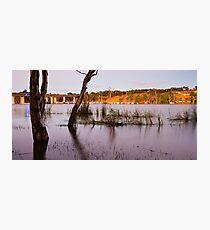 Sleeping Houseboats Photographic Print