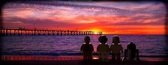 The End - On a beach far far away..... by crickmedia