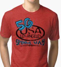 usa la tshirt by rogers bros Tri-blend T-Shirt
