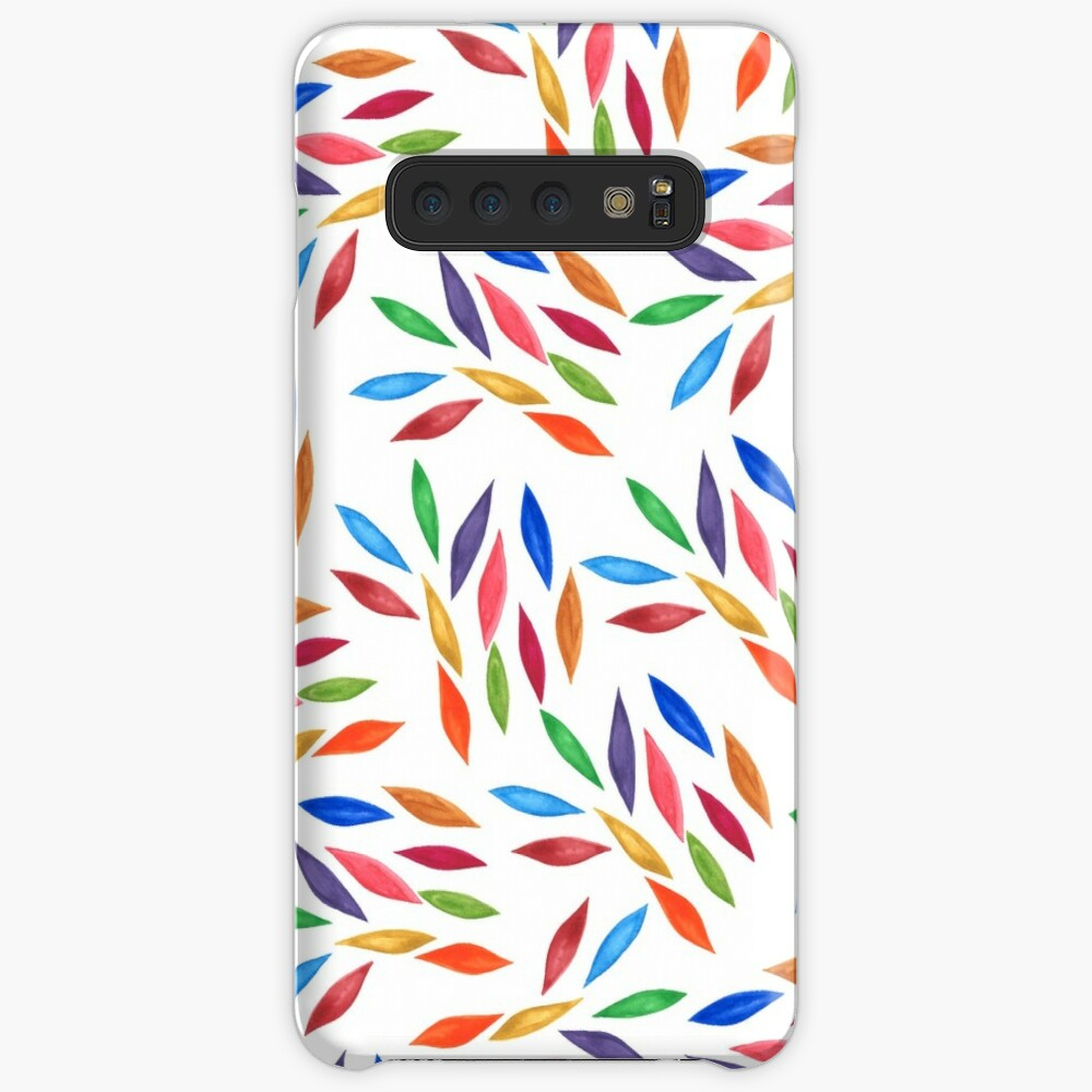 Magic colorful leaves Case & Skin for Samsung Galaxy