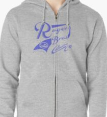 uk cotswolds by rogers bros Zipped Hoodie