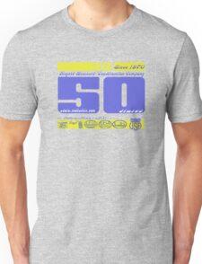 usa new york tshirt by rogers bros co Unisex T-Shirt