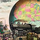 A amazing twentieth century transportation illustration by hypnotzd