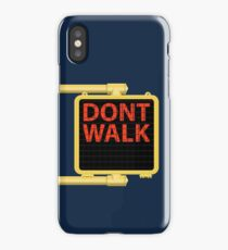 "New York Crosswalk Sign Don""t Walk iPhone Case/Skin"