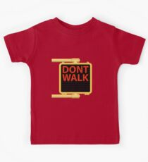 "New York Crosswalk Sign Don""t Walk Kids Clothes"
