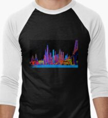 Neon jungle Baseball ¾ Sleeve T-Shirt