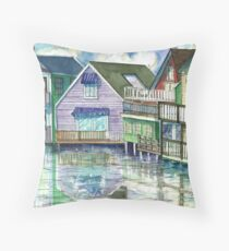 Kennebunkport, Maine Throw Pillow