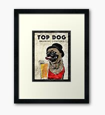 Top Dog Brewing Company Framed Print