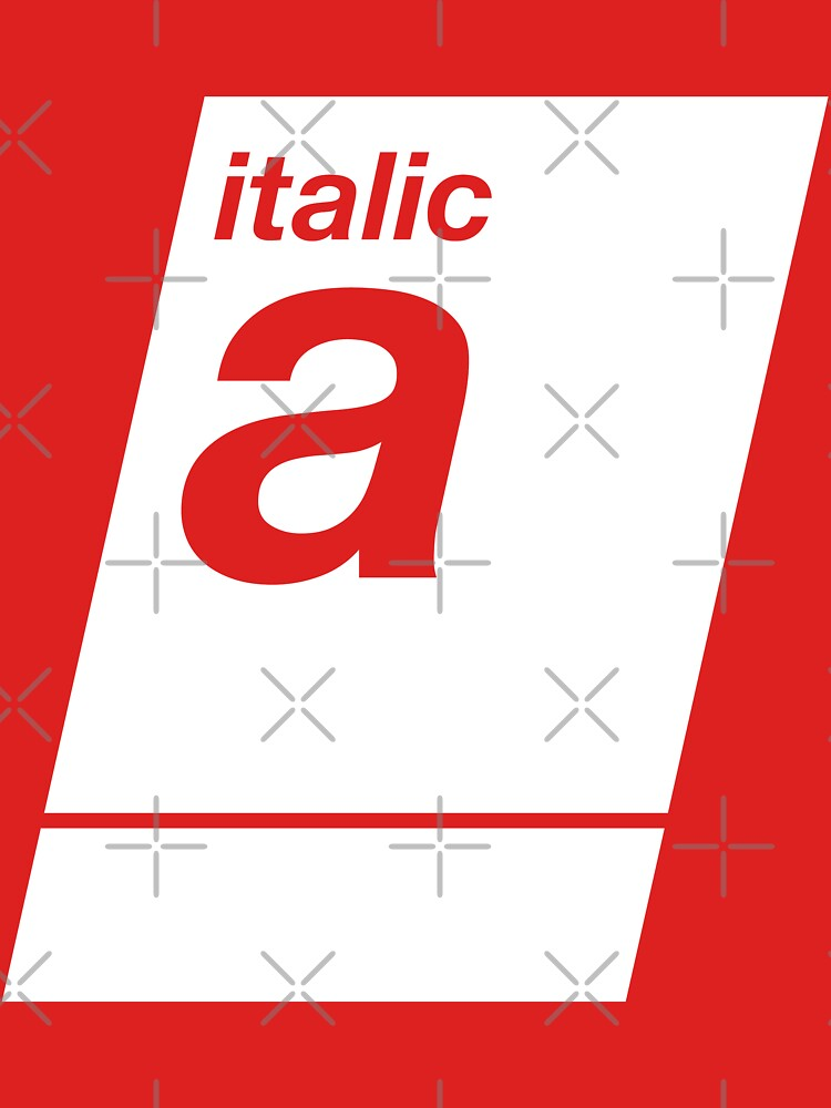 italic white by sub88