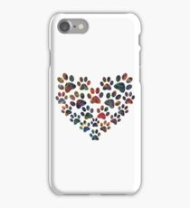 Paw Heart - Hundred iPhone Case/Skin