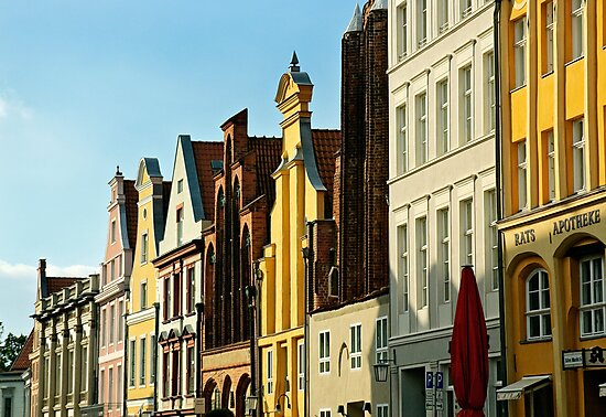 MVP19 Fascades, Stralsund, Germany. by David A. L. Davies