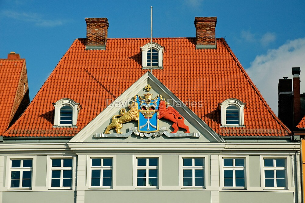 MVP22 Coat of Arms, Stralsund, Germany. by David A. L. Davies