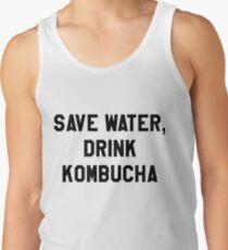 Save Water, Drink Kombucha Trendy/Hipster Meme Tank Top