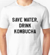 Save Water, Drink Kombucha Trendy/Hipster Meme Unisex T-Shirt