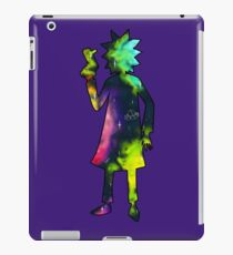 Drunk Science Grandpa Silhouette iPad Case/Skin