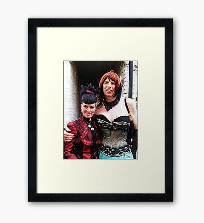 Cool Goths Framed Print