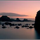 Ballintoy Sunset by Mark Lyons