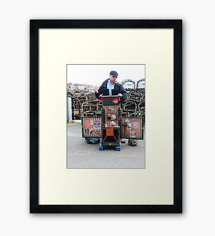 A Brilliant Side Show Framed Print