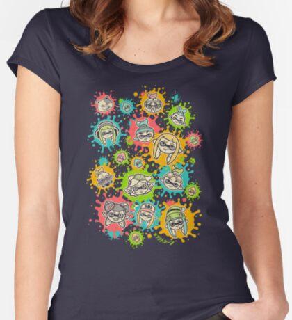 Splat Festival Women's Fitted Scoop T-Shirt