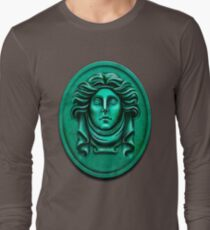 Madame L Headstone by Topher Adam Long Sleeve T-Shirt