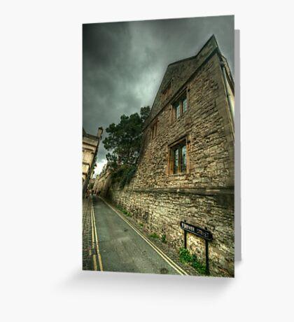 Brewer Street Oxford Greeting Card