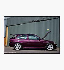 Escort Cosworth Monte - Side Shot Photographic Print