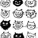 CATS by jillianailsa