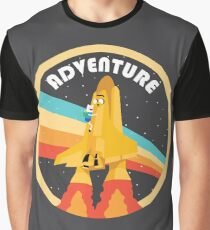 Adventure (Through Space And) Time Graphic T-Shirt