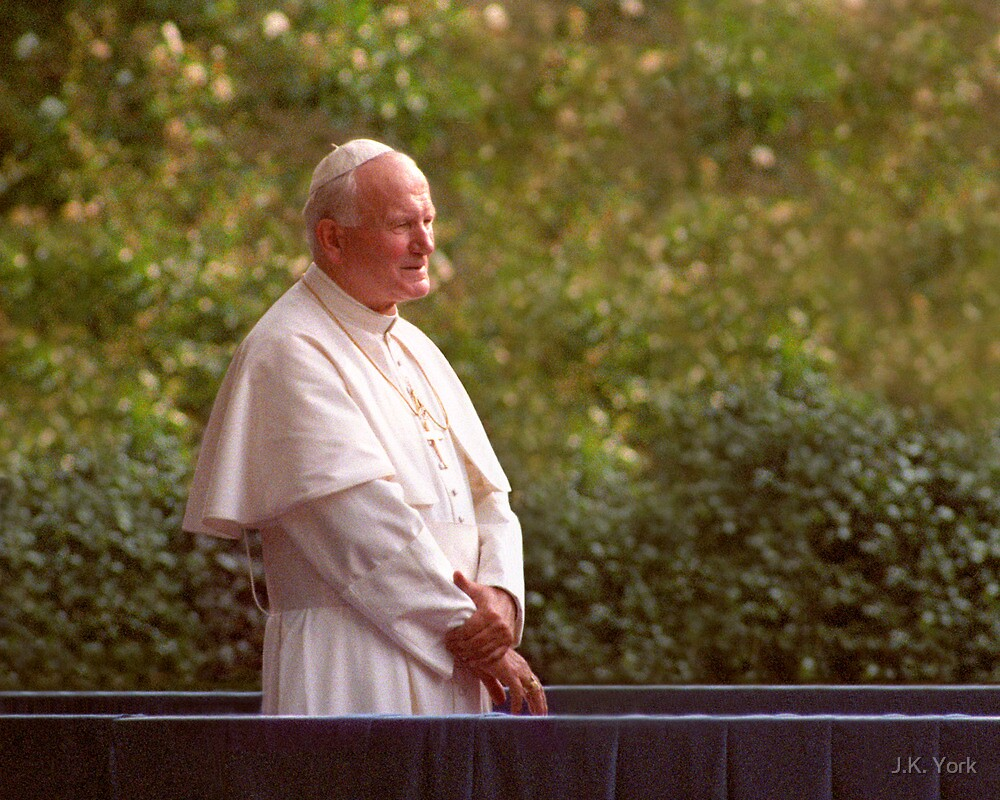 Pope John Paul II by J.K. York