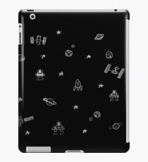 Space Exploration Doodle (black) iPad Case/Skin