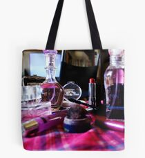 Pink Clutter Tote Bag